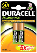 Аккумуляторы Duracell HR6-2BL 2000mAh предзаряженные 2 шт