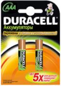 Аккумуляторы Duracell HR03-2BL 800mAh предзаряженные 2 шт