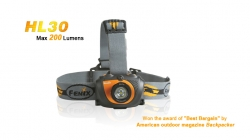 Фонарь Fenix HL30 200лм