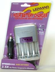Высокоскоростное зарядное устройство Lenmar PRO66, 2000 мА