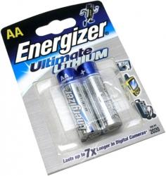 Батарейки Energizer Ultimate LITHIUM AA (2 шт.)