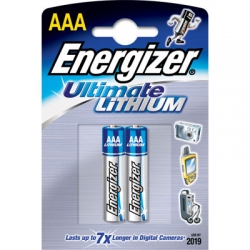 Батарейки Energizer Ultimate LITHIUM AAА (2 шт.)