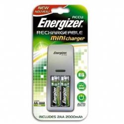 Зарядное устройство Energizer Mini Charger + 2AA аккум. 2000mAh