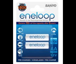 Аккумуляторы Eneloop AA (HR-3UTGB-2BP R6), 2 шт.