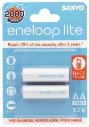 Аккумуляторы Eneloop Lite AA (HR-3UQ), 2 шт.