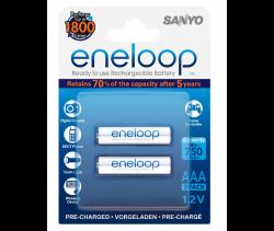 Аккумуляторы Eneloop AAA (HR-4UTGB-2BP), 2 шт.