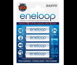 Аккумуляторы  Eneloop AA (HR-3UTGB R6), 4 шт.