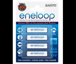Аккумуляторы  Eneloop AAA (HR-4UTGB R03), 4 шт.