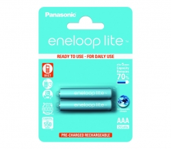 Аккумуляторы Eneloop Lite AAA (BK-4LCCE/2BE), 2 шт.