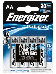 Батарейки Energizer Ultimate Lithium AA (4 шт.)