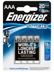 Батарейки Energizer Ultimate Lithium AAA (4 шт.)
