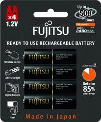 Аккумуляторы Fujitsu (Eneloop Pro) AA, 4 шт.