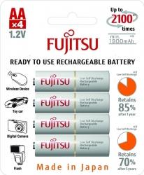 Аккумуляторы Fujitsu (Eneloop) AA, 4 шт.