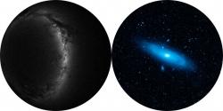 """Диски для планетария """"Южное полушарие"""" и """"Галактика Андромеда"""""""