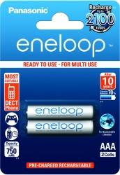 Аккумуляторы Eneloop AAA (BK-4MCCE/2BE), 2 шт.
