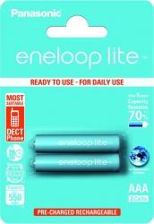 Аккумуляторы Eneloop Lite AA (BK-3LCCE/2BE), 2 шт.