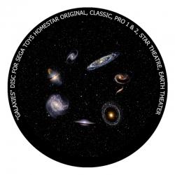 """Диск для планетария Homestar """"Галактики"""""""