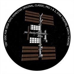 """Диск для планетария Homestar """"МКС"""""""
