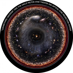 """Диск для планетария Uncle Milton """"Логарифмическая Вселенная"""""""