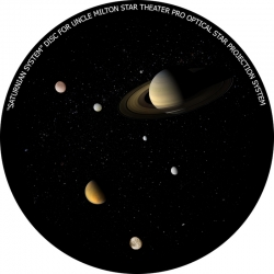 """Диск для планетария Uncle Milton """"Система Сатурна"""""""