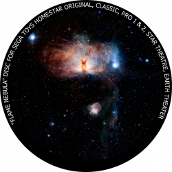 "Диск для планетария Homestar ""Туманность Факел"""