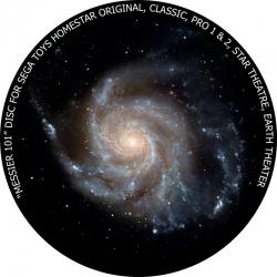 "Диск для планетария Homestar ""Мессье 101"""