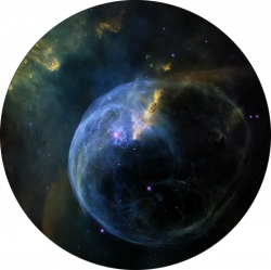 "Диск для планетария Eastcolight/Bresser ""Туманность Пузырь"""