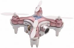 Квадрокоптер Cheerson CX-10W розовый